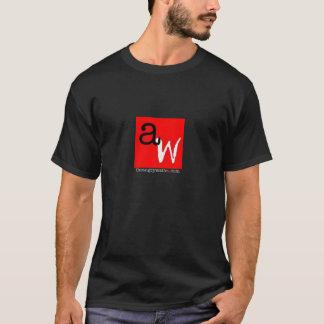 Der verärgerte Kellner-T - Shirt - rotes Quadrat -
