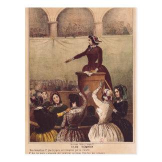Der Verein der Frauen, c.1848 Postkarte
