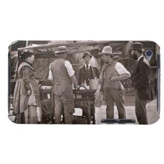 Der Verkäufer der Schalentiere vom Straßen-Leben iPod Touch Hülle
