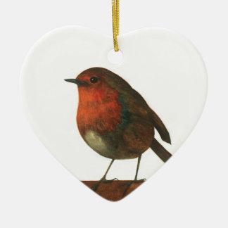 Der Verkünder des Winters Keramik Ornament
