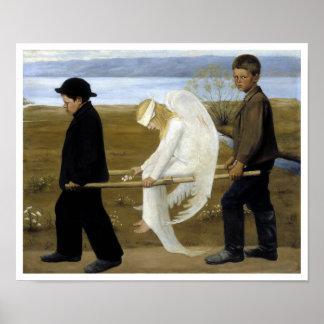 Der verletzte Engel Poster