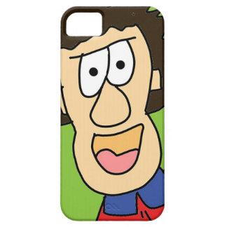 der verrückte Großvater-Cartoon iPhone 5 Schutzhülle