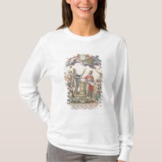 Der Vertrag von Versailles im Jahre 1768 T-Shirt
