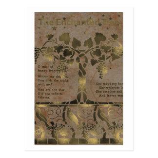 Der verzauberte Baum Postkarte