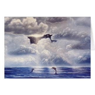 Der vierte Delphin Karte