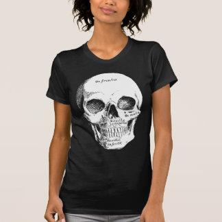 Der viktorianische Damen-Schädel-T - Shirt