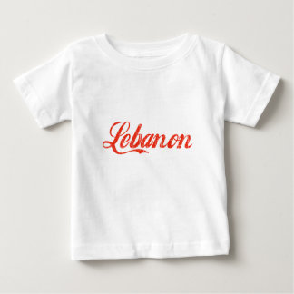 Der Vintage Libanon Baby T-shirt