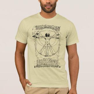 Der Vitruvian Mann T-Shirt