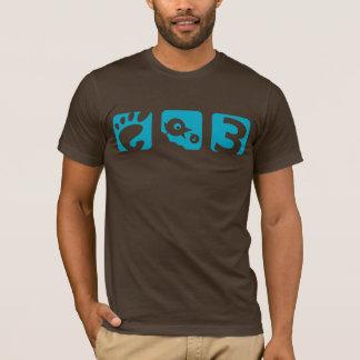 Der Vogel-Männer des GNOME 3 der T - Shirt