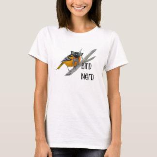 Der Vogel-Nerd-Shirt der Frauen T-Shirt