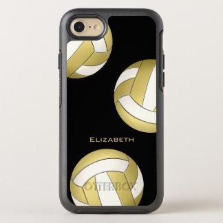 der Volleyball der Goldweißen Frauen OtterBox Symmetry iPhone 8/7 Hülle