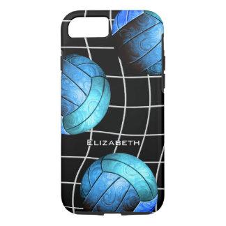 der Volleyball der Türkisfrauen mit vball Netz iPhone 8/7 Hülle