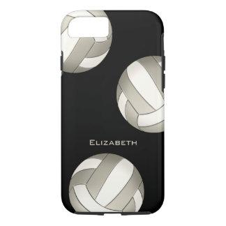 der Volleyball der weißen Frauen des Platins iPhone 8/7 Hülle