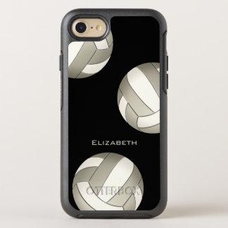 der Volleyball der weißen Frauen des Platins OtterBox Symmetry iPhone 8/7 Hülle