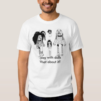 Der Voodoo-Puppen-grundlegender T - Shirt der