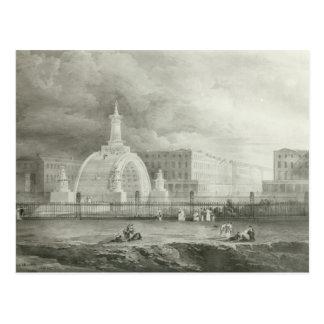 Der vorgeschlagene Triumphbogen von Portland Postkarte