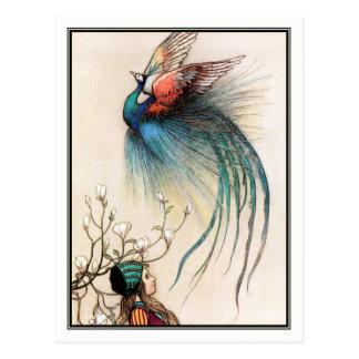 Der Wacholderbusch-Baum durch Warwick Goble Postkarte