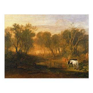 Der Wald der Gerste, c.1808 Postkarte