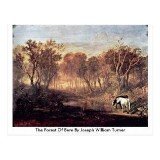 Der Wald der Gerste durch Joseph William Turner Postkarte