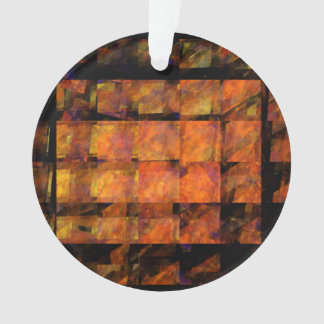 Der Wand-abstrakte Kunst-Acryl-Kreis Ornament
