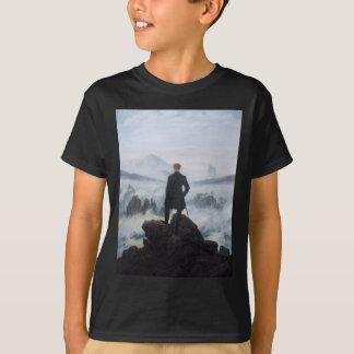 Der Wanderer über dem Meer des Nebels durch Caspar T-Shirt