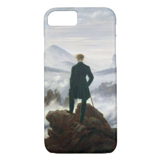 Der Wanderer über dem Meer des Nebels iPhone 8/7 Hülle