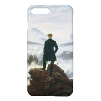 Der Wanderer über dem Meer des Nebels iPhone 8 Plus/7 Plus Hülle