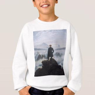 Der Wanderer über dem Meer des Nebels Sweatshirt