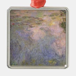 Der Wasser-Lilie Teich Silbernes Ornament