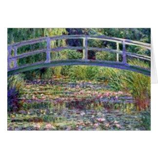 Der Wasser-Lilien-Teich durch Claude Monet Karte