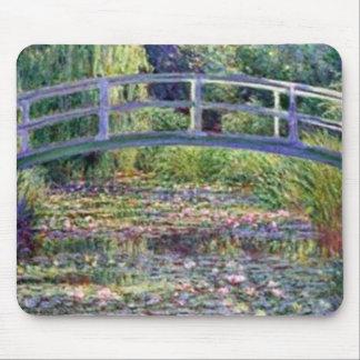 Der Wasser-Lilien-Teich durch Claude Monet Mousepad