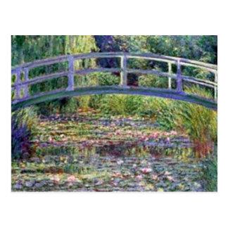 Der Wasser-Lilien-Teich durch Claude Monet Postkarte