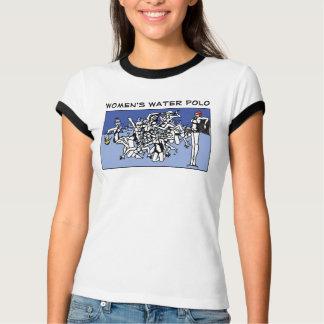 Der Wasserball-Verstümmelung der Frauen T-Shirt
