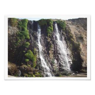 """""""Der Wasserfall-"""" Foto-Druck! Photographie"""