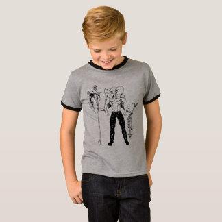 Der Wecker-T - Shirt des Ganesh Krieger-Kindes