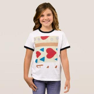 Der Wecker-T - Shirt des Liebe-Weg-Mädchens
