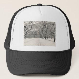 Der Weg des Dichters - Central Park-Winter Truckerkappe