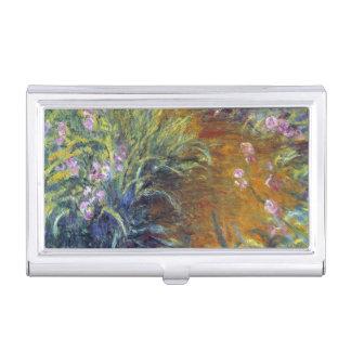 Der Weg durch die Iris durch Claude Monet Visitenkarten Etui
