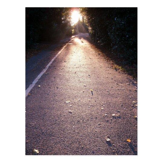 der Weg Postkarte