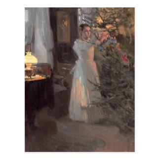 Der Weihnachtsbaum, 1910 Postkarte