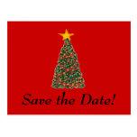 Der Weihnachtsbaum, Save the Date! Postkarten