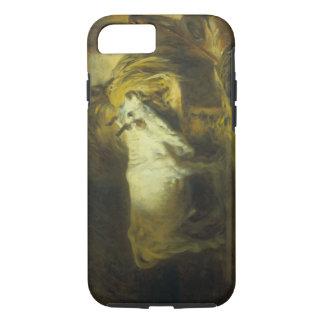 Der weiße Stier im stabilen (Öl auf Leinwand) iPhone 8/7 Hülle