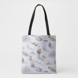 Der weiße Traum des Mädchens Tasche