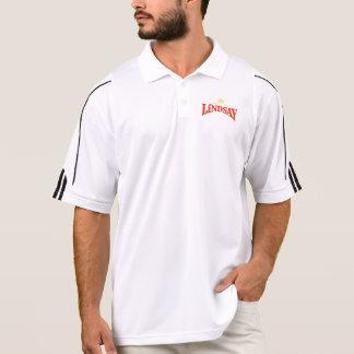 Der weißen Männer/schwarzes Adidas spielen Polo Shirt