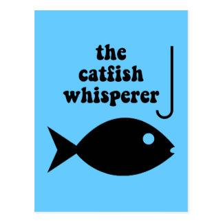 der Wels Whisperer Postkarte