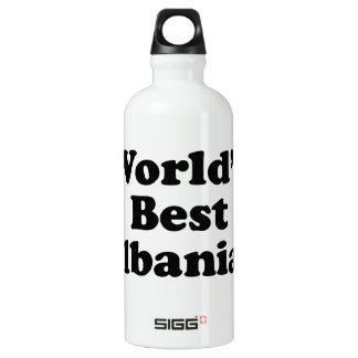 Der Welt der Albaner gut Aluminiumwasserflasche