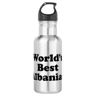 Der Welt der Albaner gut Edelstahlflasche