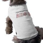 Der wenige Engel 3 der HundeT - Ärmelfreies Hunde-Shirt