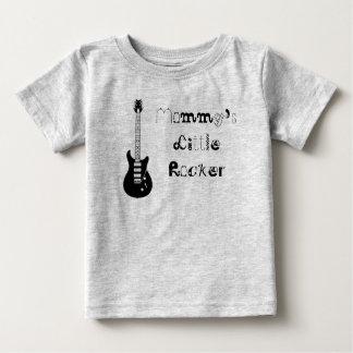 Der wenige Rocker der Mama Baby T-shirt