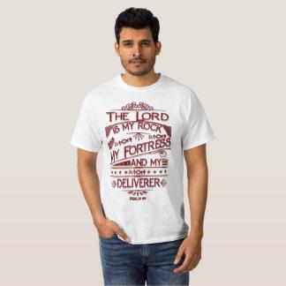 Der Wert-T - Shirt Lord-Is My Rock Mens